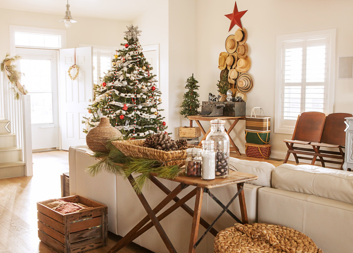 Rustic Design Ideas: Merry Christmas To All